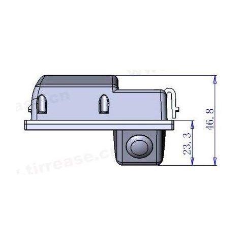 Автомобильная камера заднего вида для Land Rover Freelander Превью 4