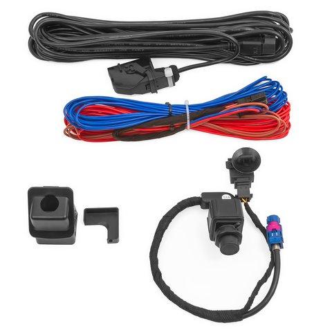 Штатная камера заднего вида для Volkswagen Scirocco 3, T5 Превью 4