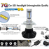 Car LED Headlamp Kit UP-7HL-H1W-4000Lm (H1, 4000 lm, cold white) - Preview 3