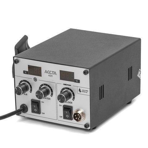 Термоповітряна паяльна станція Accta 401 Прев'ю 6