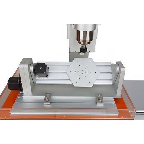 Настольный 5-осевой фрезерно-гравировальный станок ChinaCNCzone HY-6040 (2200 Вт)