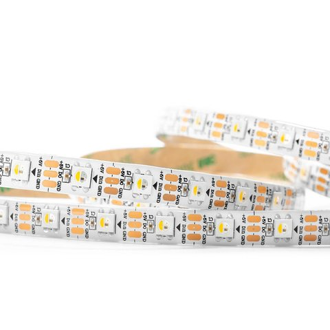 RGBWW LED Strip SMD5050, SK6812 (white, with controls, IP65, 5 V, 60 LEDs/m, 5 m) Preview 1