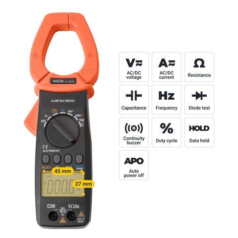 Digital Clamp Meter Accta AT-1000A Preview 2